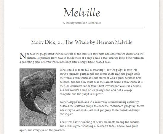 Melville WordPress Theme