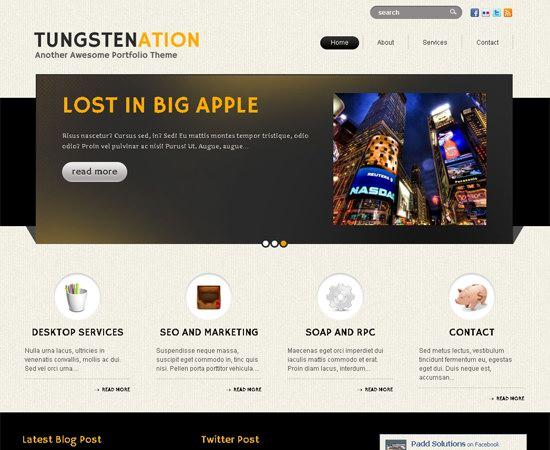 Tungstenation WordPress Theme