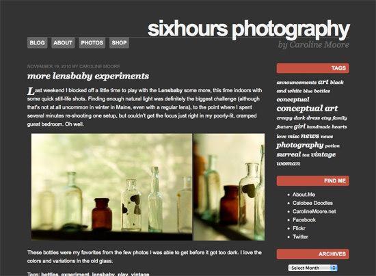 SixHours WordPress Theme