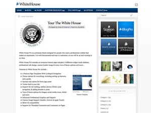 Pagelines Free WordPress Theme: WhiteHouse