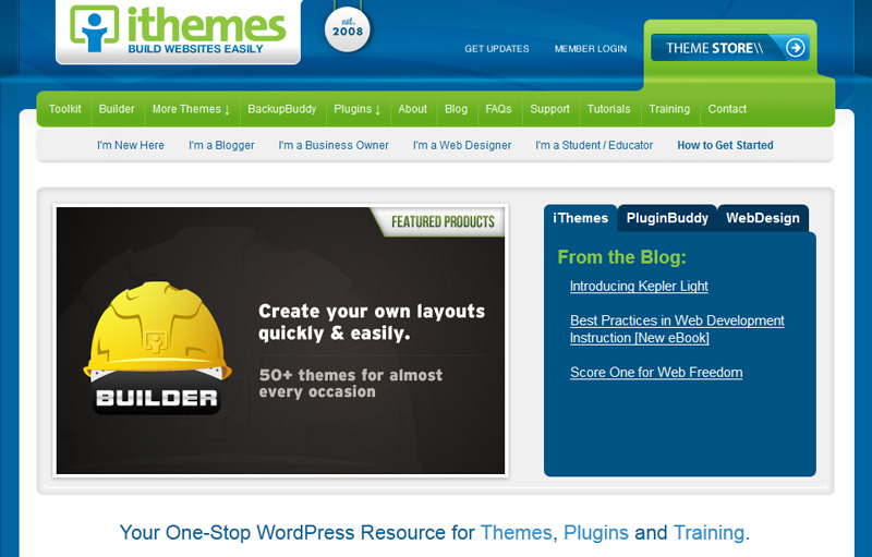 ithemes review - A review of ithemes