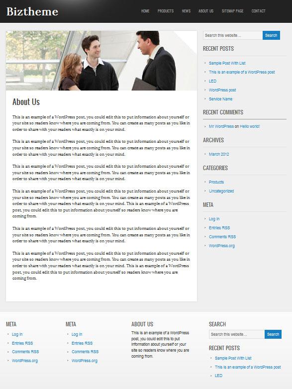 corporate-wordpress-theme-inner-page