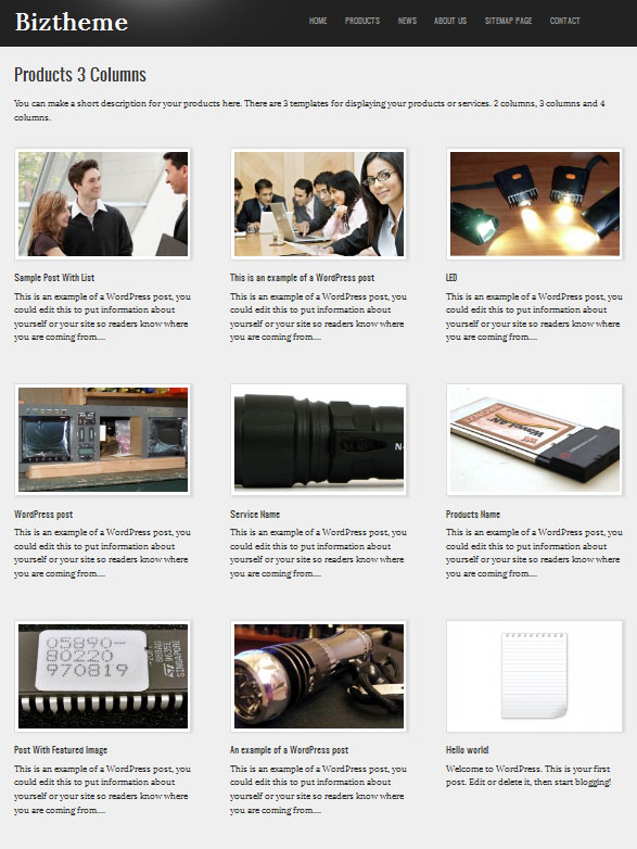product-page-of-business-theme