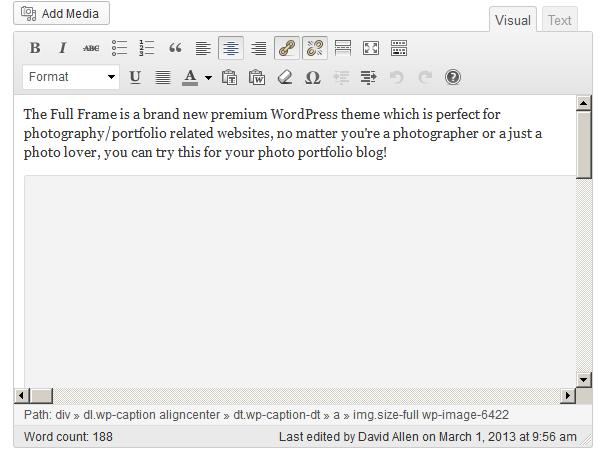 Problem with WordPress Image Caption